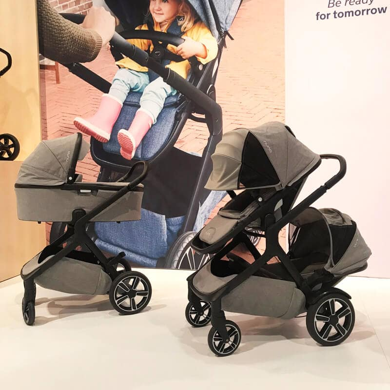 nuna Demi Grow Double Stroller | 65 Top Baby Products for 2018 from the ABC Kids Expo