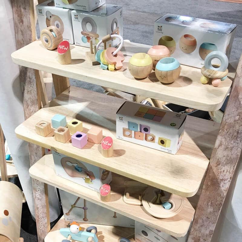 PlanToys Pastel Collection | 65 Top Baby Products for 2018 from the ABC Kids Expo